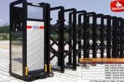 ประตูเลื่อนพับอัตโนมัติ Folding gate CM-HX02B